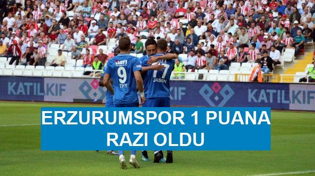 Sivasspor: 2-  Erzurumspor: 2