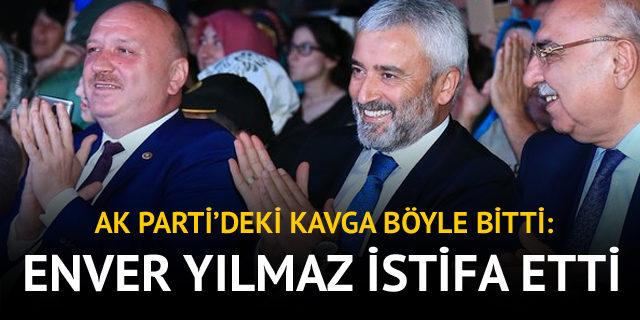 AK Parti Ordu Büyükşehir Belediye Başkanı Enver Yılmaz istifa etti
