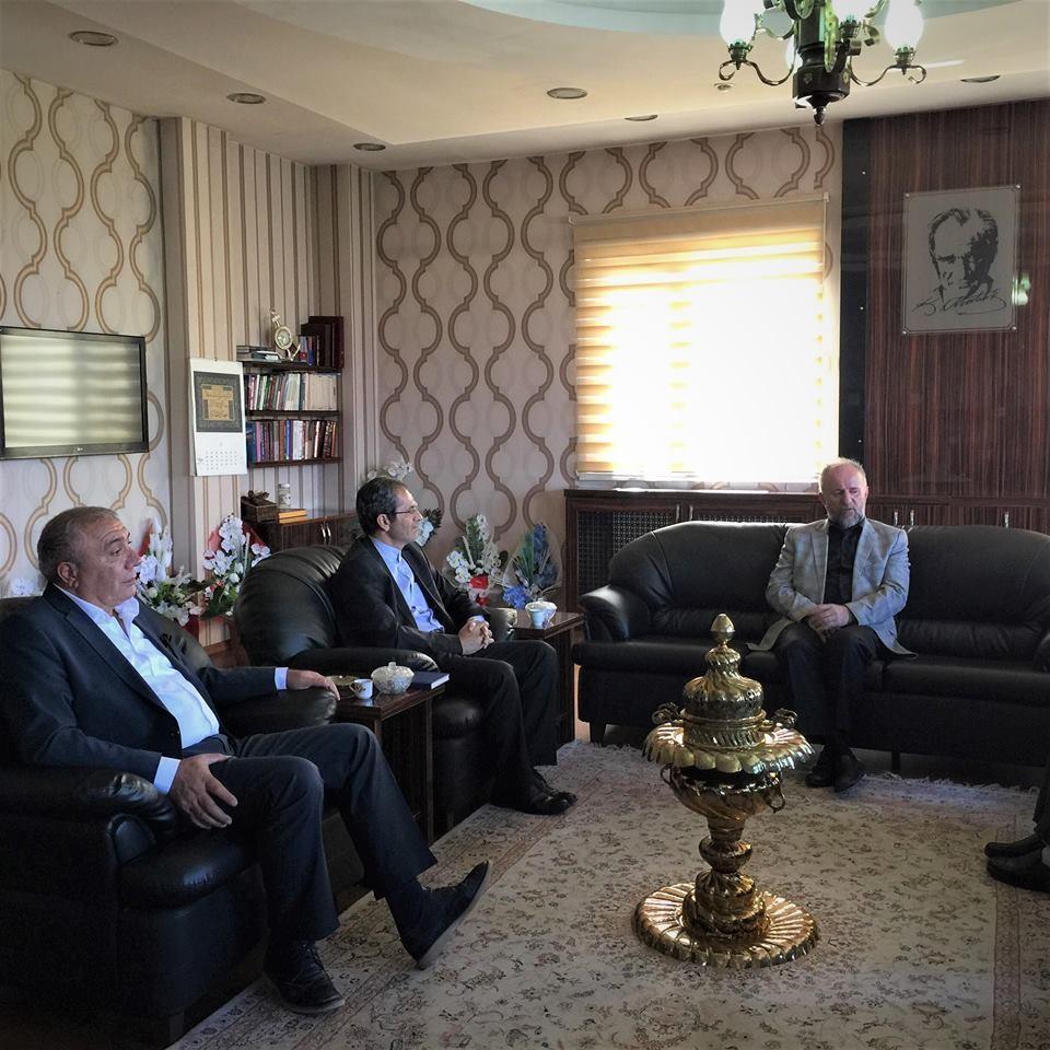 Çat Belediye Başkanı Kılıç'tan İl Müftüsü Sula'ya ziyaret