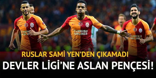 Galatasaray 3 - 0 Lokomotiv Moskova