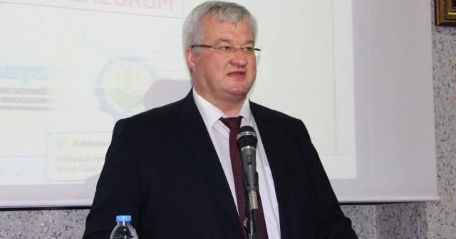 Ukrayna Ankara Büyükelçisi Andrii Sybıha'dan Etb'ye Ziyaret