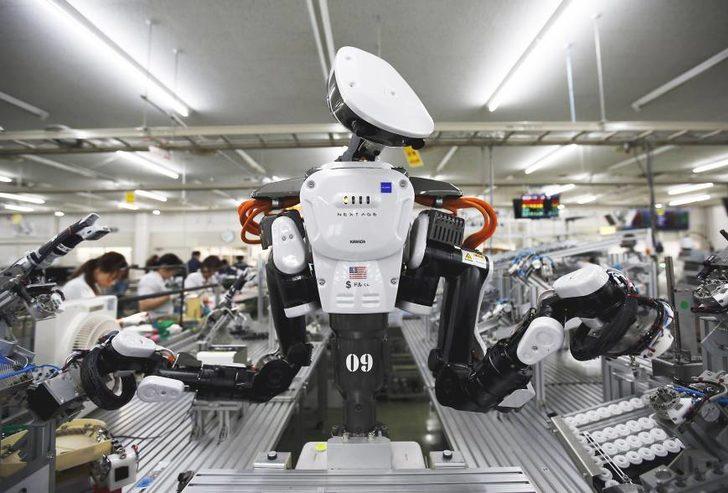 Robotlar 2025 yılında işimizin yarısından fazlasını alacaklar