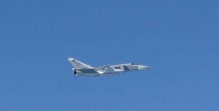 Japonya alarma geçti, savaş uçakları havalandı!