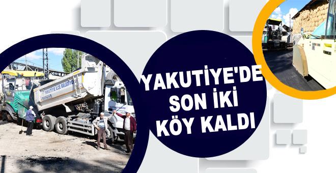 Erzurum Merkez Yakutiye İlçe Belediyesi, köy/mahallelerde çalışmalarını tamamlıyor.