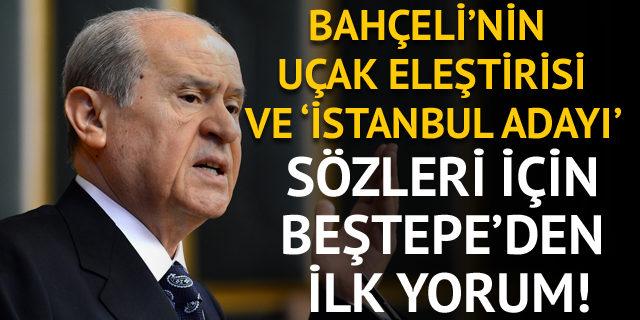Cumhurbaşkanı Sözcüsü Kalın: Bahçeli'nin sözleri memnuniyet verici