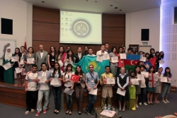 Yabancı öğrenciye başarı sertifikası