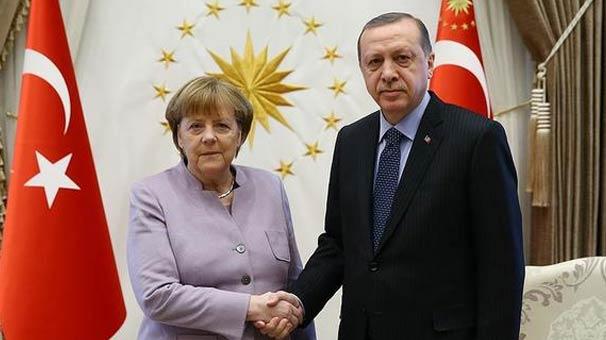 Merkel'den Erdoğan'a tavır!