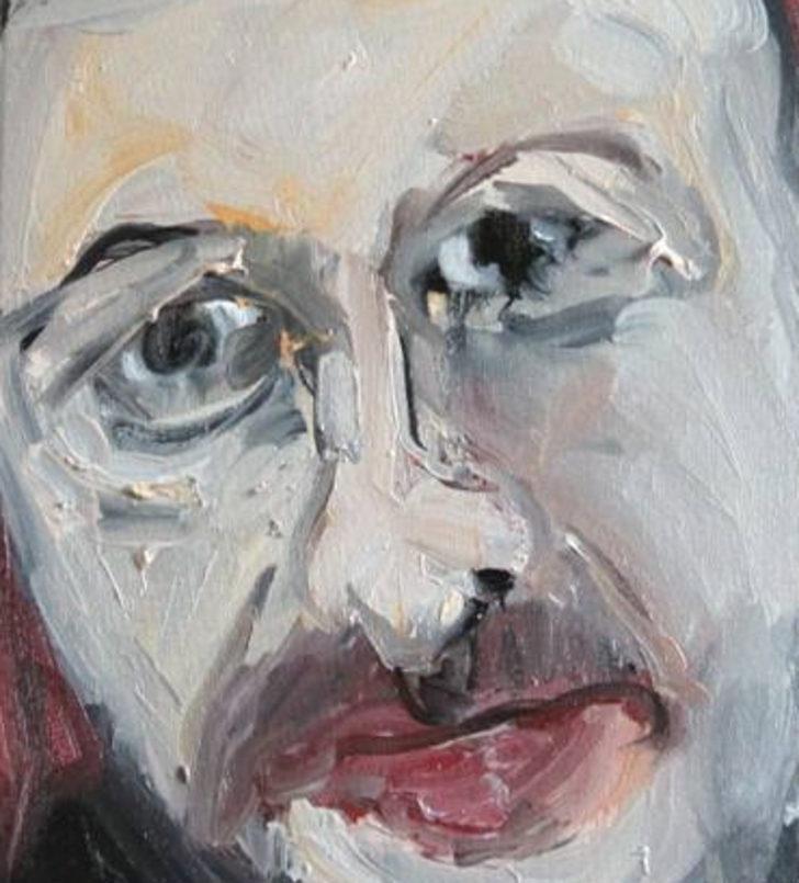 İspanyol ressam Maria Aparici'den 2190 dolarlık Erdoğan tablosu