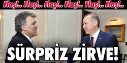 Erdoğan ve Gül biraraya geldi!