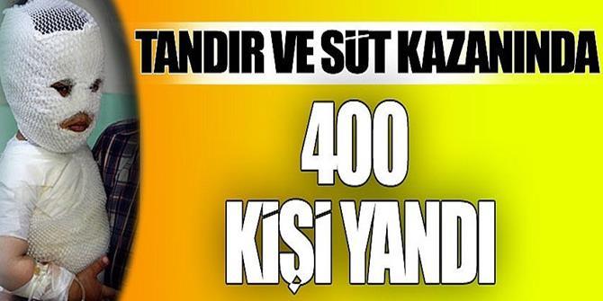 Doğu Anadolu'da facia! 400 kişi böyle yandı!