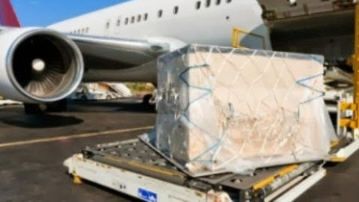 Suudi kargo uçağında 14 milyon TL'lik uyuşturucu ele geçirildi