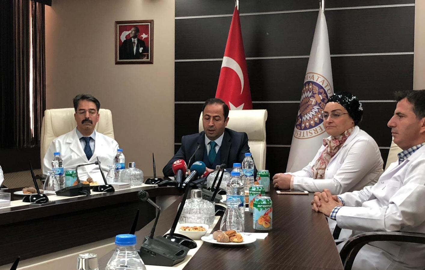 """Atatürk Üniversitesinden """"Grip olduğu öne sürülen bir hastaya kemoterapi uygulandı"""" iddialarına açıklama"""