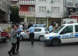 Erzurum'da Polis cinnet geçirdi!