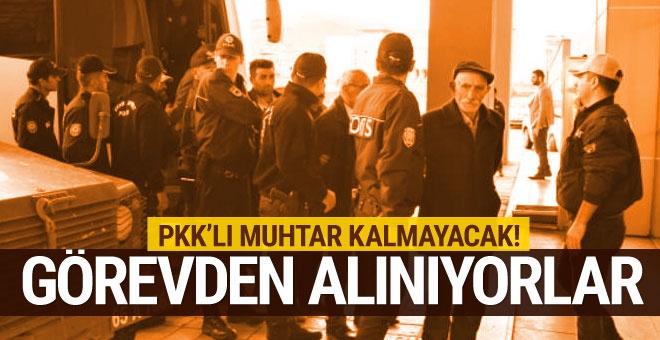 PKK'lı muhtar kalmayacak! İçişleri Bakanlığı harekete geçti
