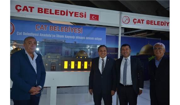Erzurum Günlerinde Çat Belediyesinin Standı İlgi Gördü