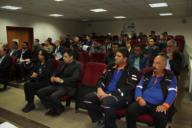 Afad Erzurum'da (Kbrn) Farkındalık Eğitimi