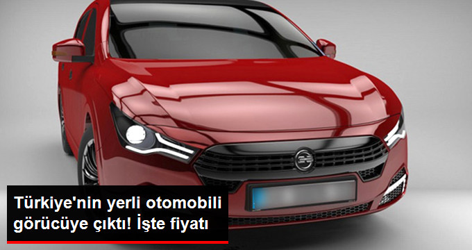 Türkiye'nin Elektrikli Yerli Otomobili TM 480 Görücüye Çıktı