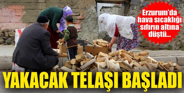 Doğu Anadolu'da hava sıcaklığı sıfırın altına düştü