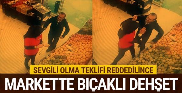 Erzurum'da Gözü Dönmüş Cani, Arkadaşlık Teklifin Kabul Etmeyen Genç Kızı Bıçakladı