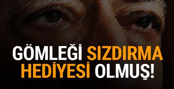 Operasyonları sızdıran polise Gülen'in gömleğini hediye vermişler!