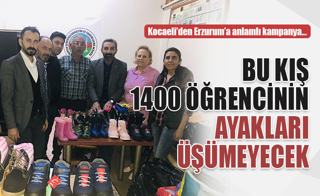 Kocaeli'den Erzurum'a, 1400 bot gönderdiler!