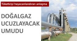Gazprom'dan bir ilk!