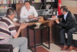 Yavilioğlu, Aydemir'i ziyaret etti!