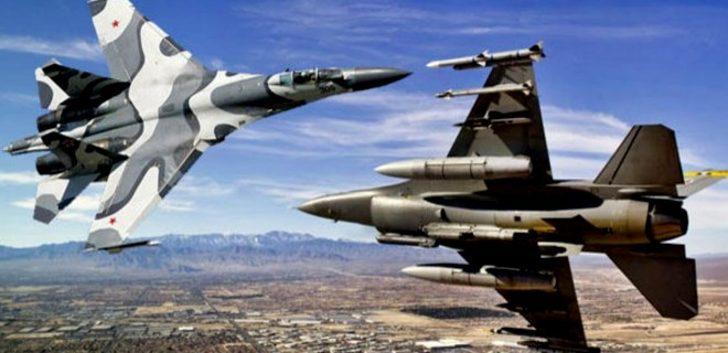 Rusya ve ABD uçakları Karadeniz'de karşı karşıya geldi! Gergin anlar!