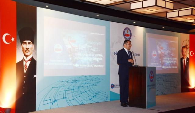 Erzurum'da 'E- Belediye Bilgi Sistemi' Tanıtıldı