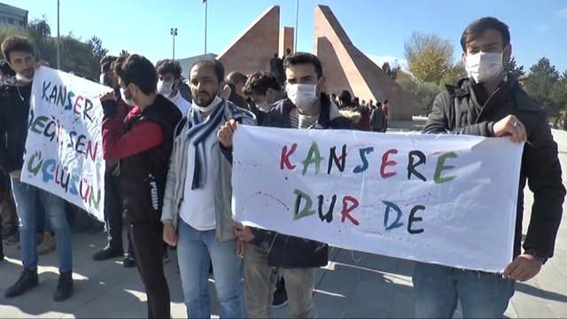 Üniversite Öğrencilerinden Lösemili Çocuklara Destek Yürüyüşü