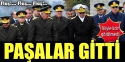 Komutanlar istifa etti