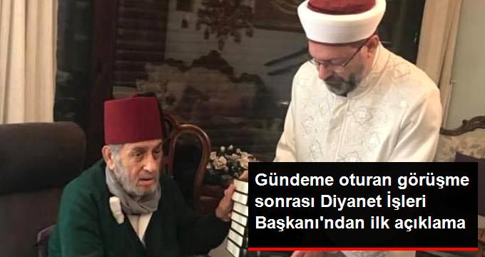 li Erbaş'tan Ziyaret Eleştirilerine Yanıt: Kul Hakkını İlhal Etmektir