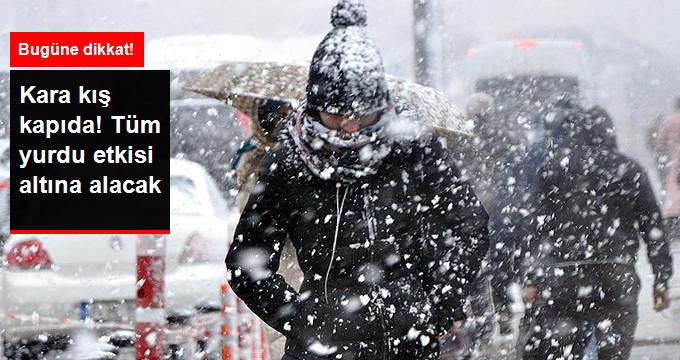 Türkiye, Bugün Karadeniz Üzerinden Gelen Soğuk Havanın Etkisi Altına Giriyor
