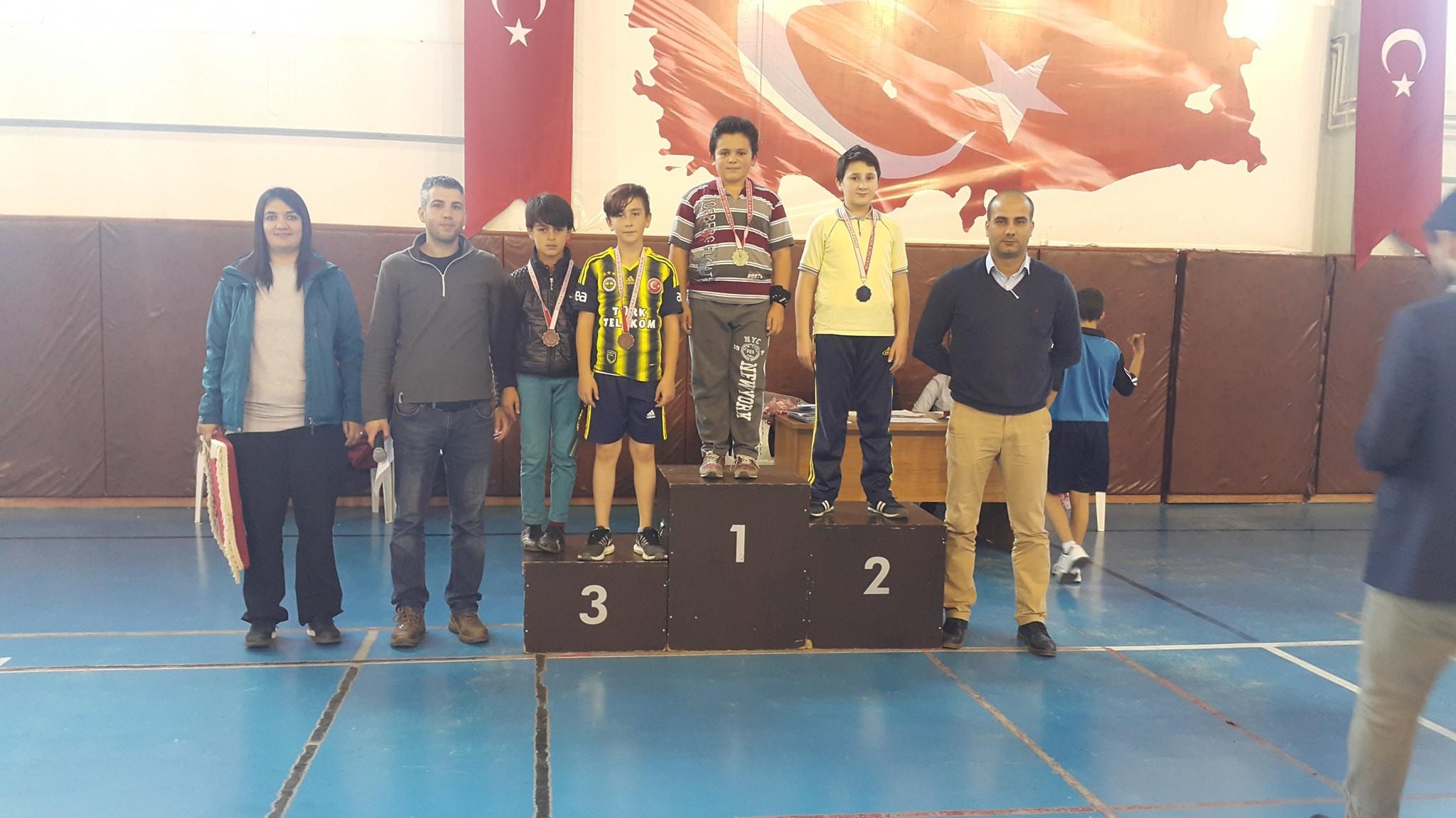 10 Kasım Masa Tenisi ve Atatürk Kupası müsabakaları