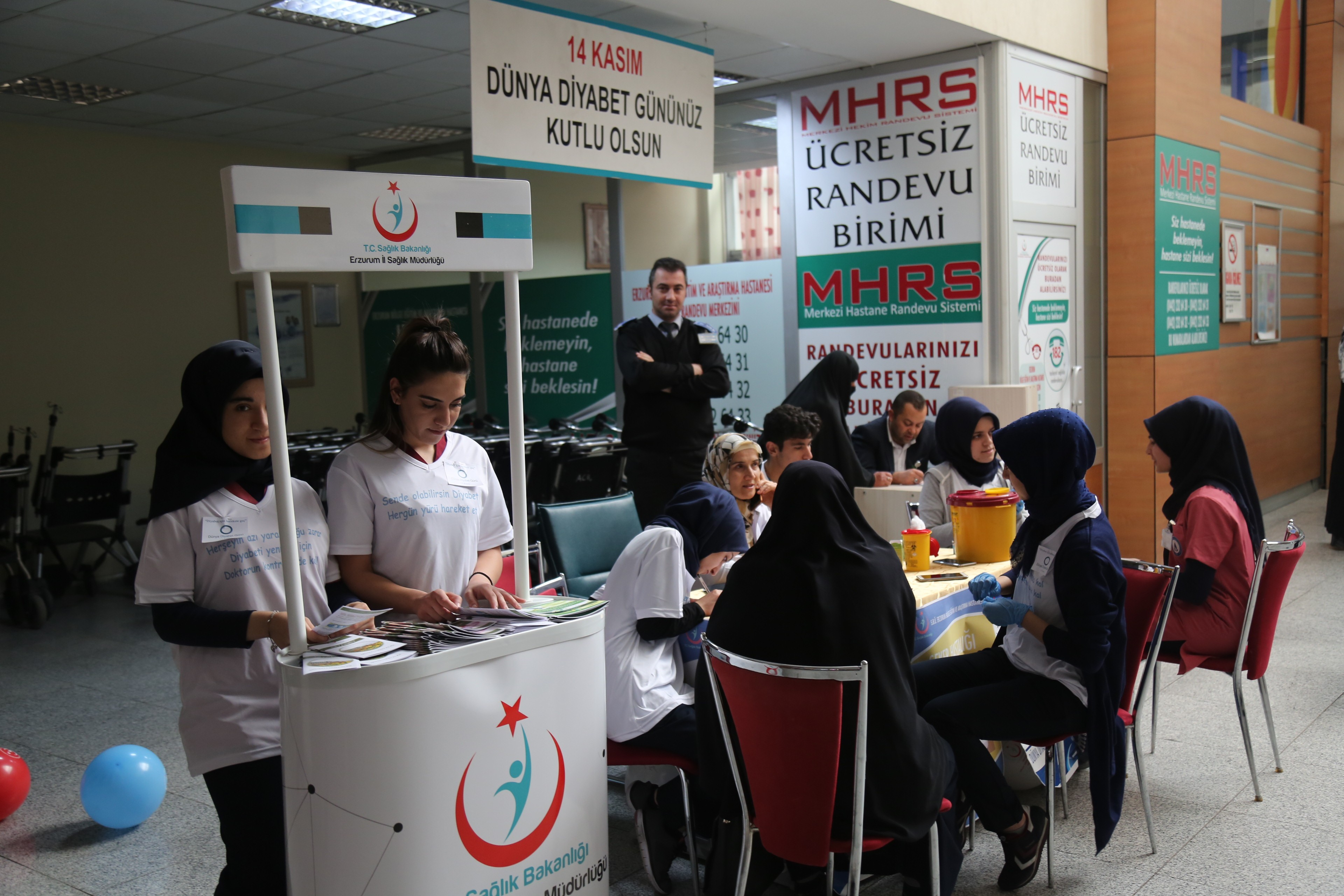 BEAH'ta 'Dünya Diyabet Günü' standı açıldı