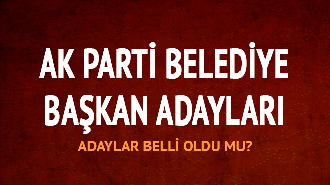 AK Parti yerel seçim temayül sonuçları!
