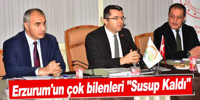 """Erzurum'un çok bilenleri """"Susup Kaldı"""""""