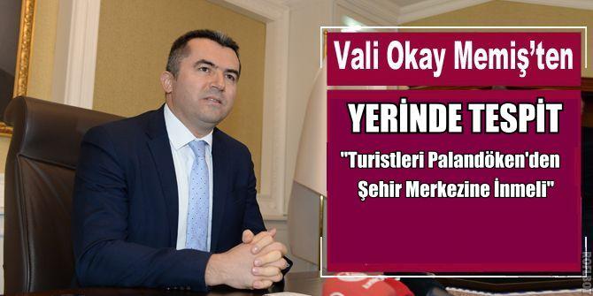 Yeni Vali Erzurum'un bir gerçeğini daha gördü!