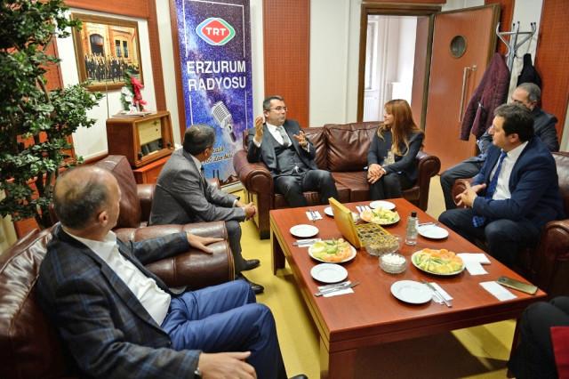 Erzurum Valisi Okay Memiş TRT Erzurum Radyosunun Konuğu Oldu
