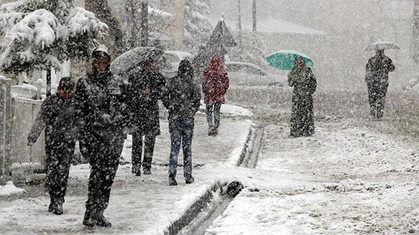 Doğu Anadolu'da Yağmur Ve Kar Yağışı Bekleniyor