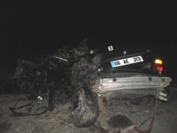 Bayburt'ta Trafik Kazası: 3 Ölü!