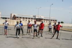 Erzurum'dan beş sporcu çağrıldı.