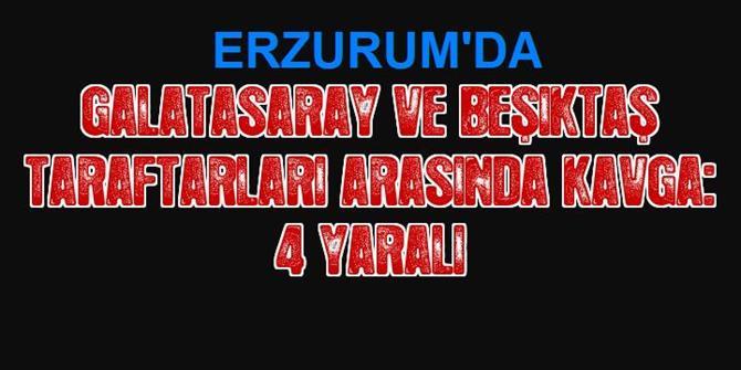 Galatasaray ve Beşiktaş Taraftarları Arasında Kavga