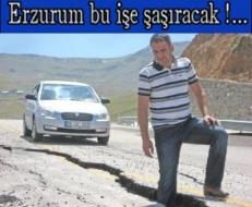 Burası Erzurum dedirten haber