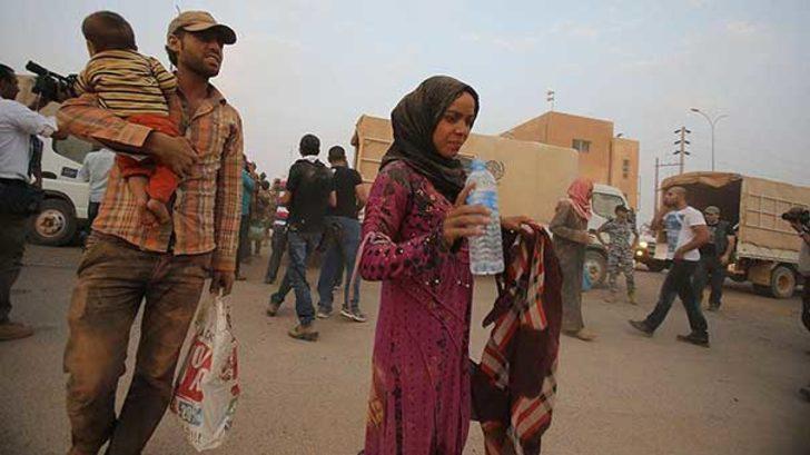Esad çağrı yaptı, Ürdün'deki 28 bin Suriyeli ülkesine döndü