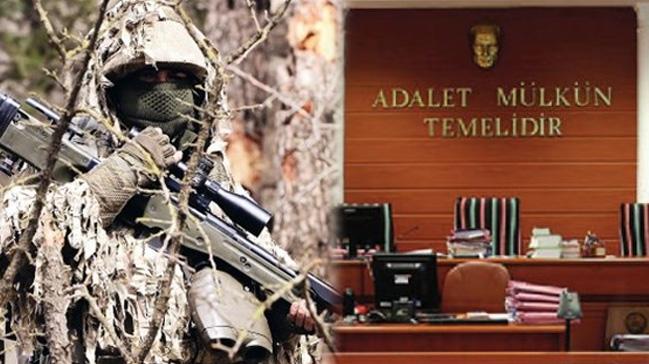 Erzurum'da Keskin nişancıdan savunma
