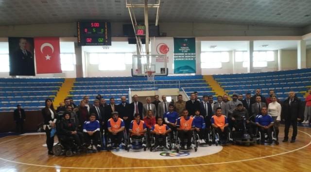 Erzurum'un İlk Tekerlekli Sandalye Basketbol Takımı Kuruluyor