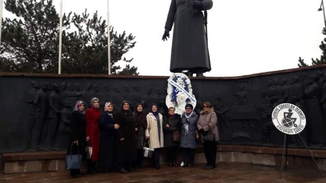 Erzurum'da 5 Aralık Kadın Hakları Günü Etkinliği