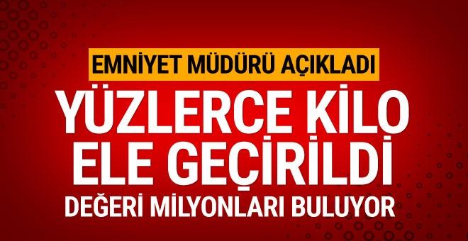 Erzincan'da 500 kilogram eroin ele geçirildi