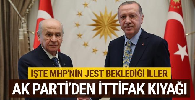 AK Parti'den MHP'ye ittifak jesti